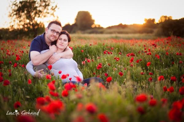 Séance de maternité à Arles: Aurore et Jean-Vincent