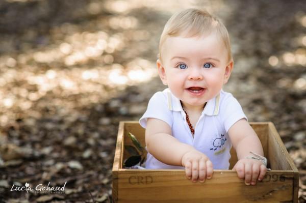 Liam, séance bébé à Six-Fours-les-Plages