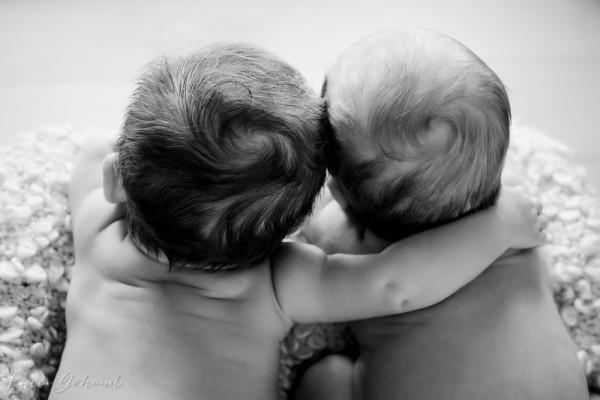 L'année des jumeaux :D Marylou et Mathéo
