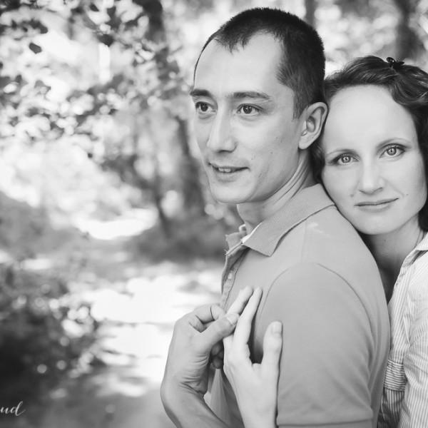 Séance d'engagement au Colorado provençal - Jana&Al