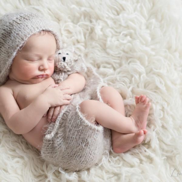 Séance de nouveau-né - Mahé