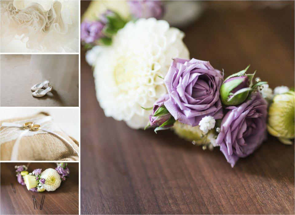 couronne de fleurs pour la mariée_Lucia Gohaud Photographe Var bebe mariage