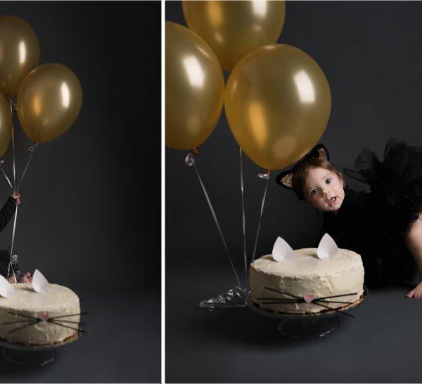 Séance d'anniversaire de Louise - Petit Chat