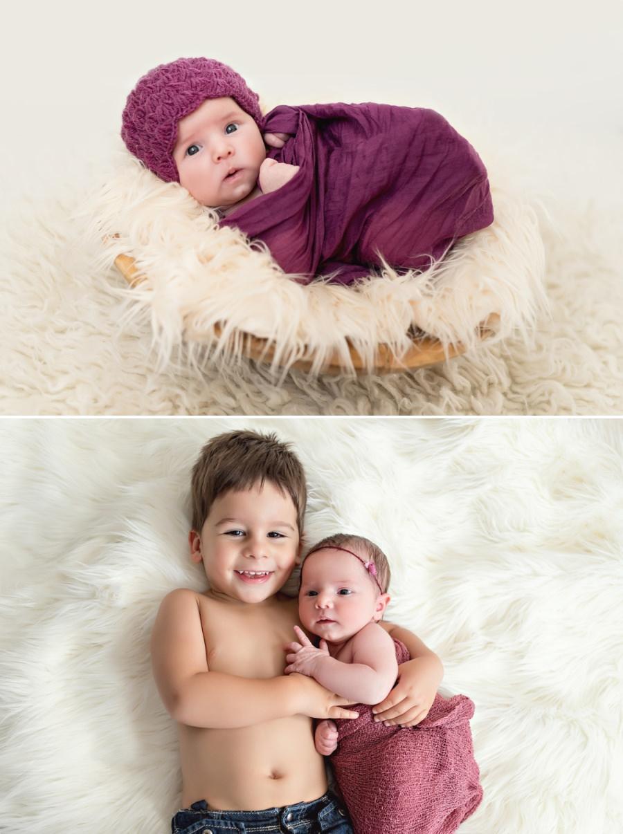 bébé et son frère