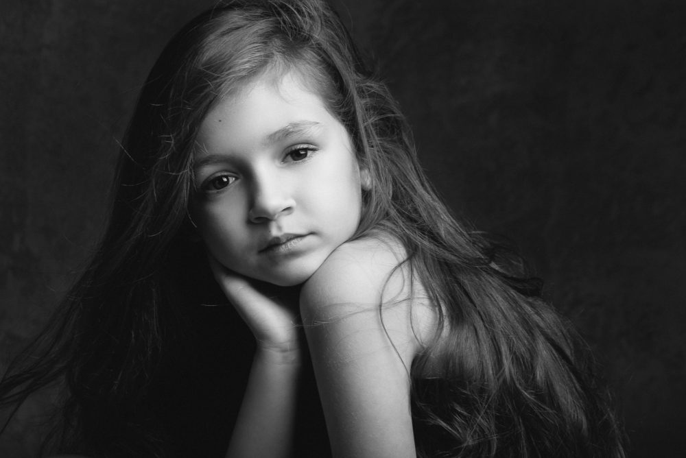 Portrait fille photographe