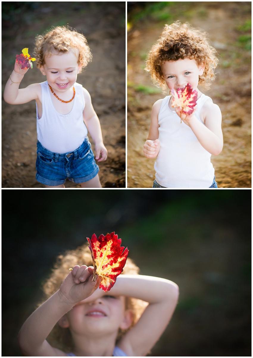 Photographe enfant en automne