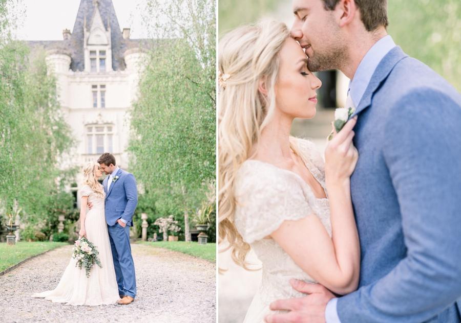 Mariage au chateau - photographe en Provence