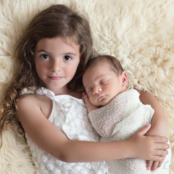 Séance photo de nouveau-né: Marlon et Evangéline