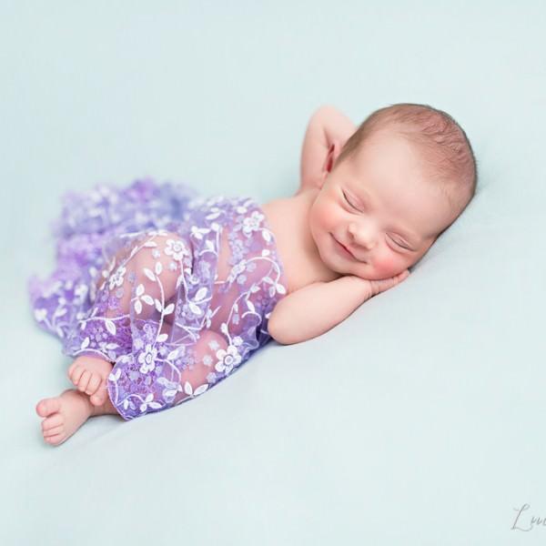 Séance photo de naissance de Lola