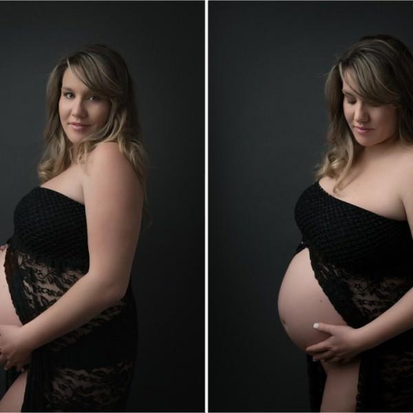 Séance maternité de Lauren à Saint Mandrier