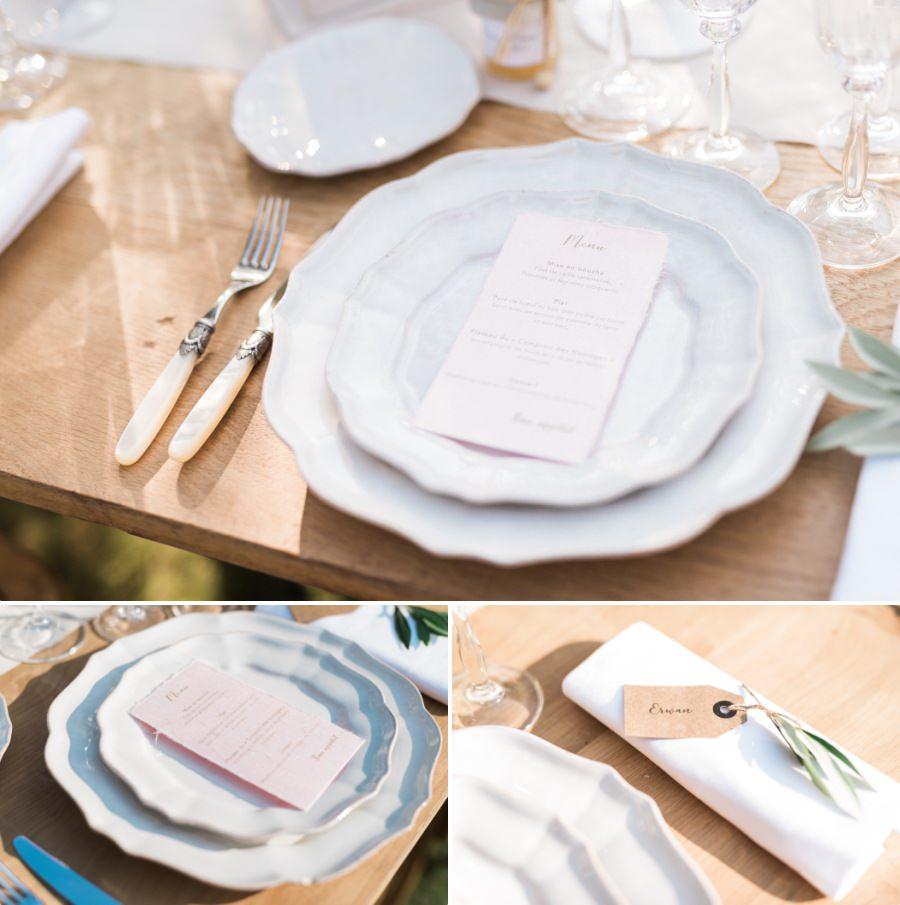 Magnifique décoration de table mariage