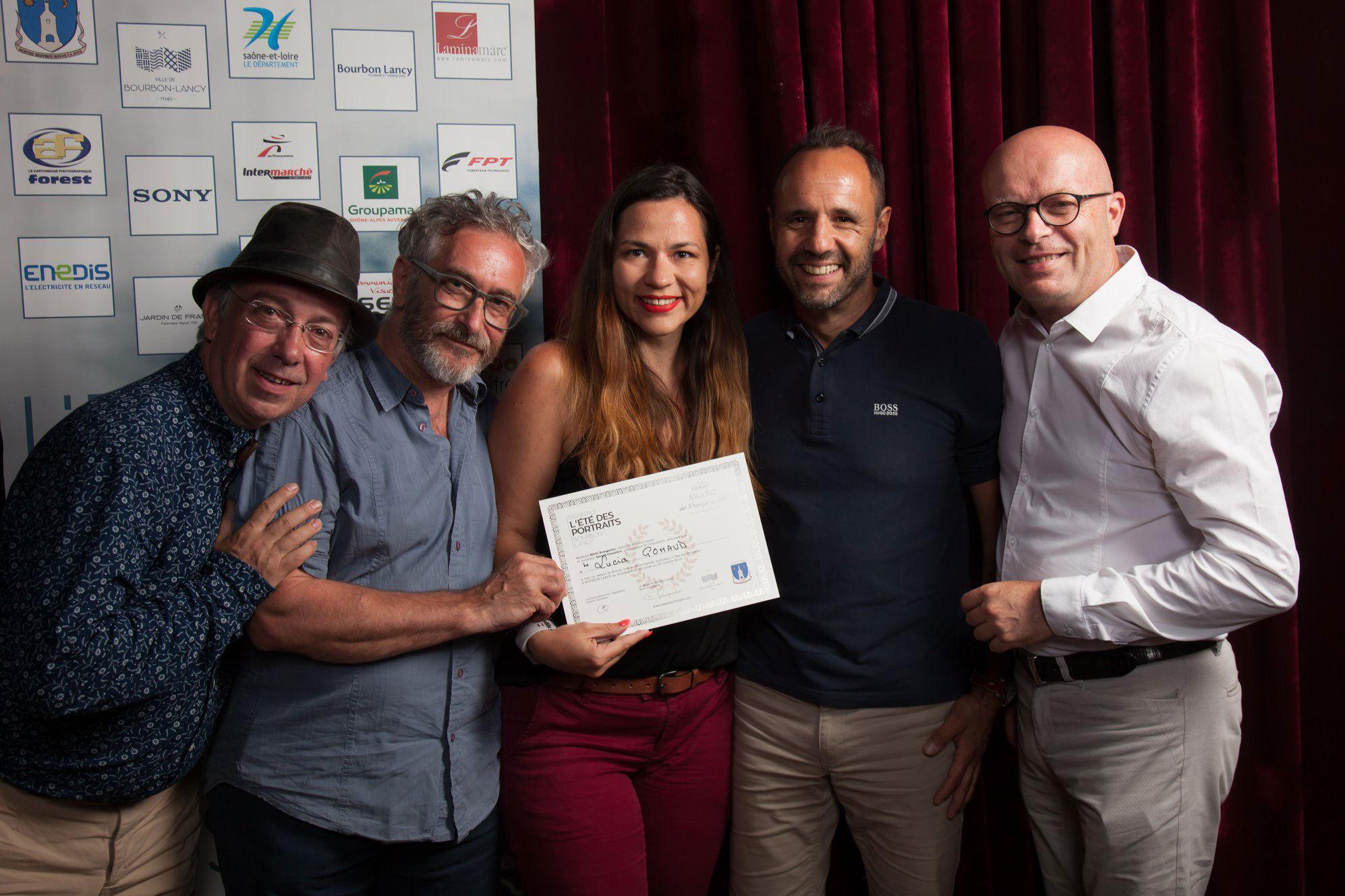 L'Eté des portraits - Award de Bronze - Lucia Gohaud mailleur photographe Var