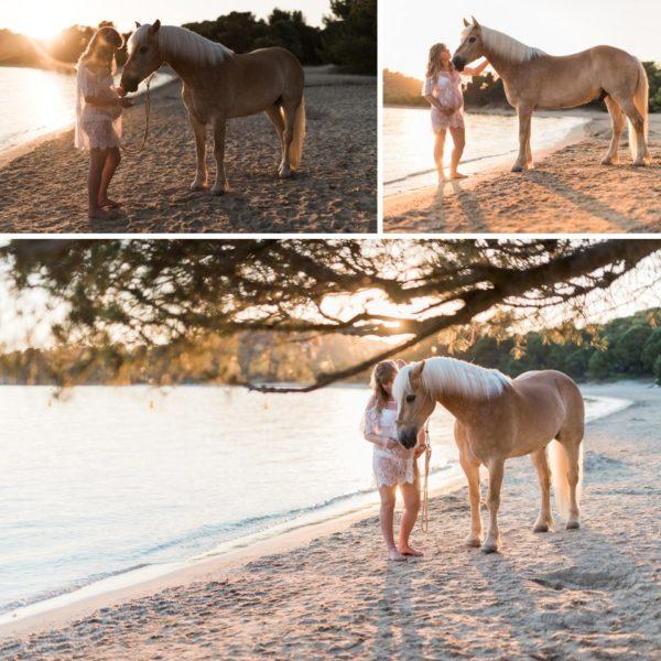 Séance de grossesse à la plage - Clara&Christo