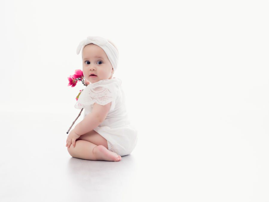 Séance bébé au studio