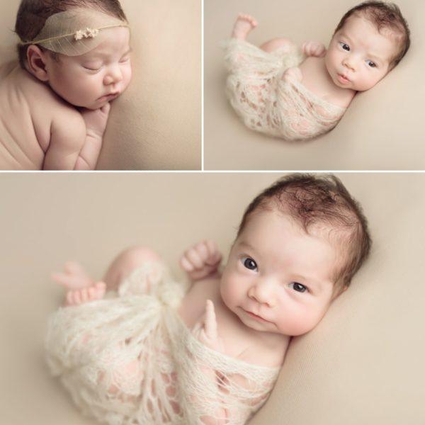 Séance de naissance d'une petite princesse -  Camille