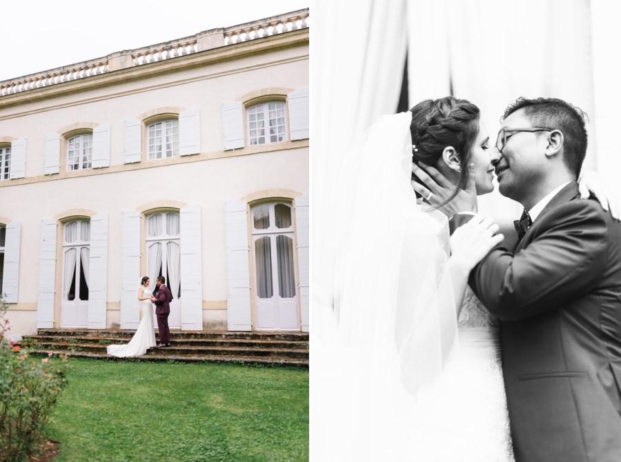 mariage au Château de Caseneuve