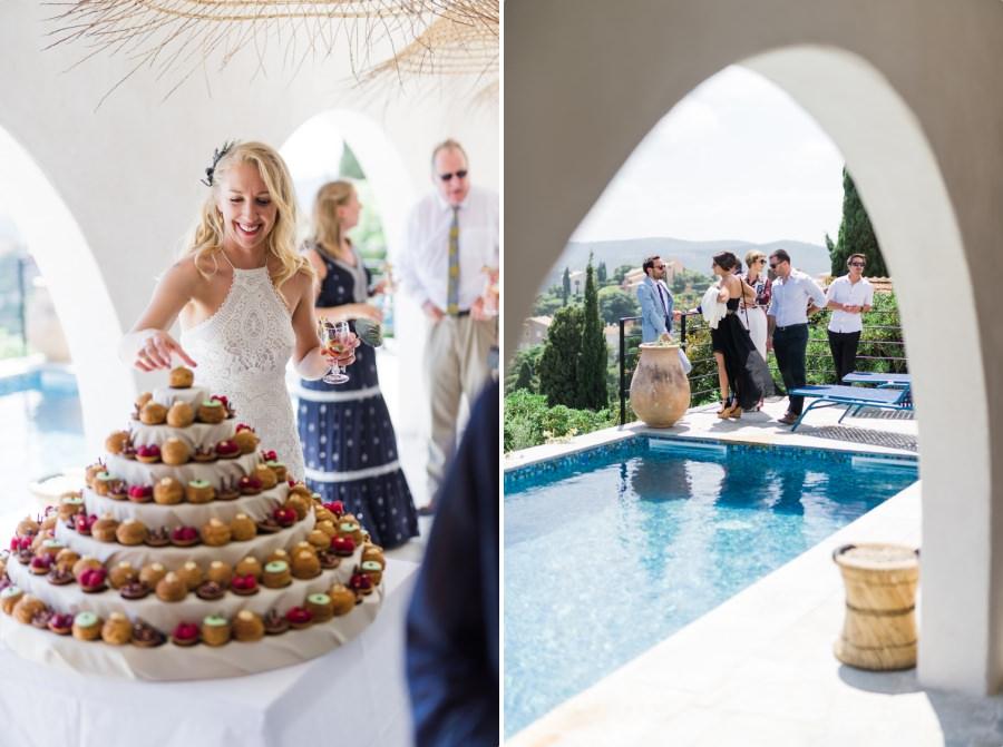 mariage simple dans une maision familiale