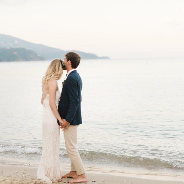 Un mariage simple au Lavandou sur la Côte d'Azur dans le Var