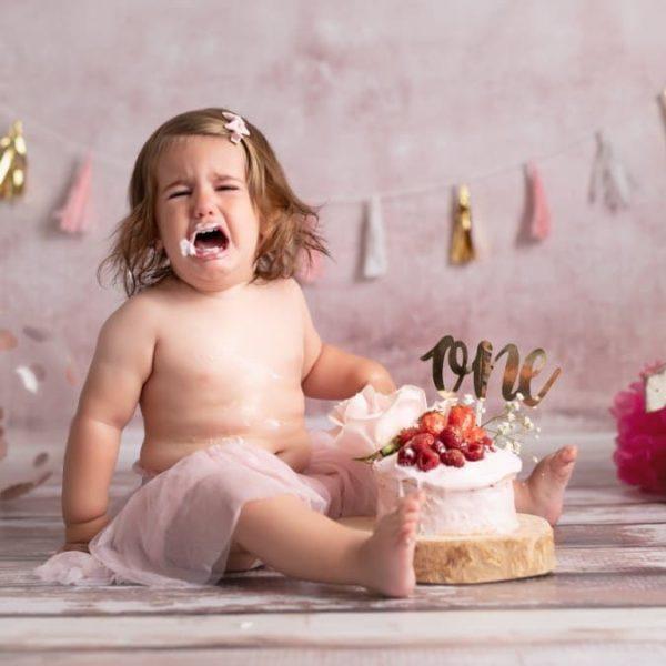 Smash de cake d'Iris